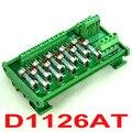 Junta Módulo de Fusibles de Montaje En Carril DIN 10 Posición de Distribución de Energía, para AC110V.