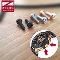 2 peças/set inner hexagon parafusos relógio para tissot t-corrida t-sport relógio cronógrafo t048 coroa brige proteger relógio guarda parafuso
