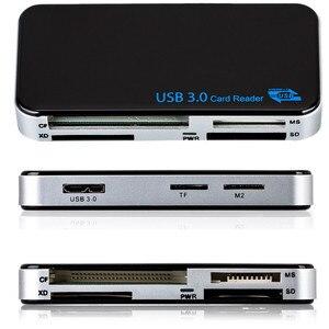 Image 4 - Baolyda lecteur de carte Micro USB 3.0 SD/TF Cardreader USB 3.0 tout en un SD/Micro SD/TF/CF/MS adaptateur de carte USB à puce Flash Compact