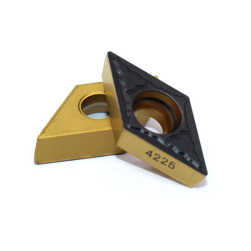 20PCS DCMT11T304 PM 4225 DCMT3 2 5 1 Internal Turning Tools Cermet Grade Carbide insert Lathe