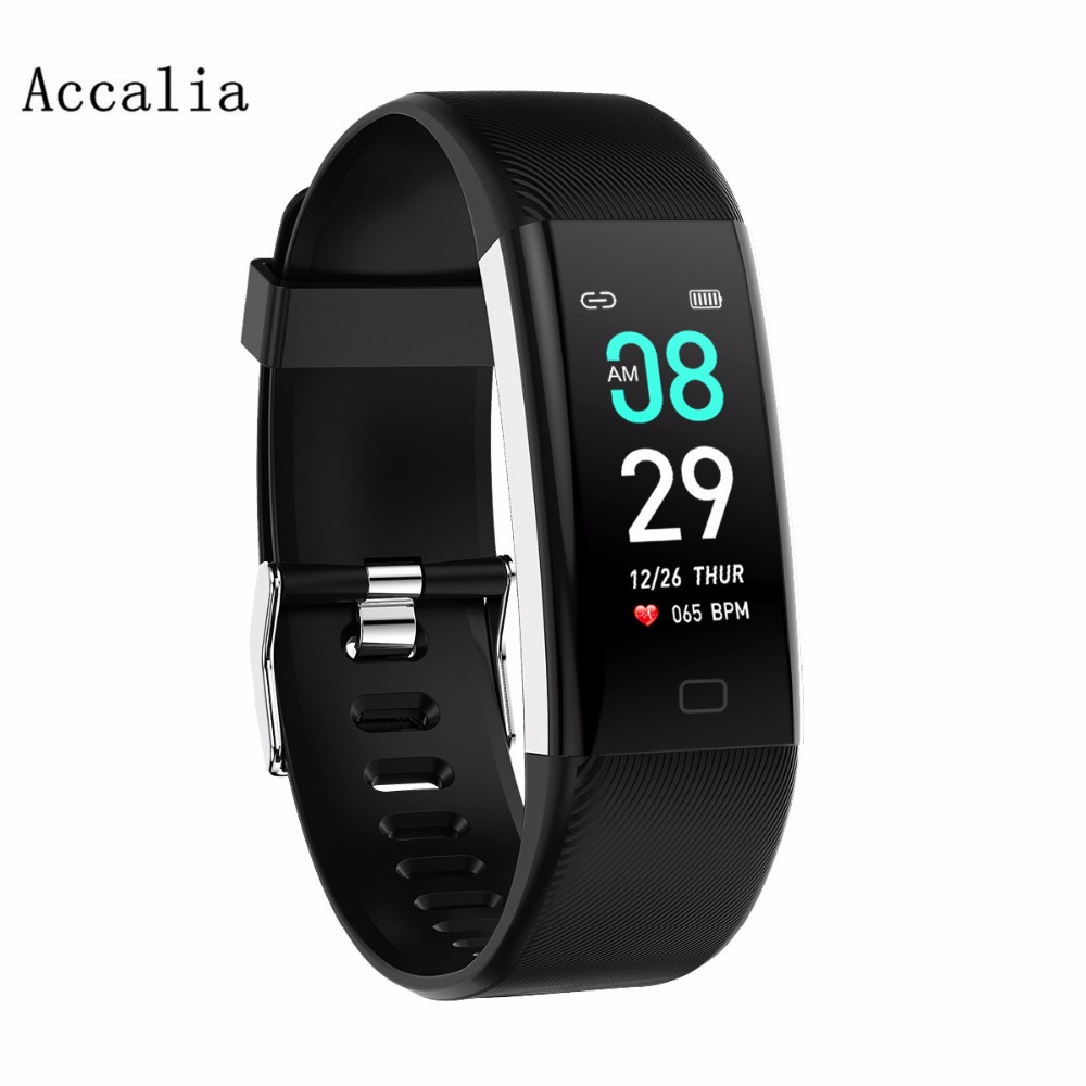 Intelligent color screen continuous heart rate blood pressure monitoring waterproof information push foreign trade sports bracel