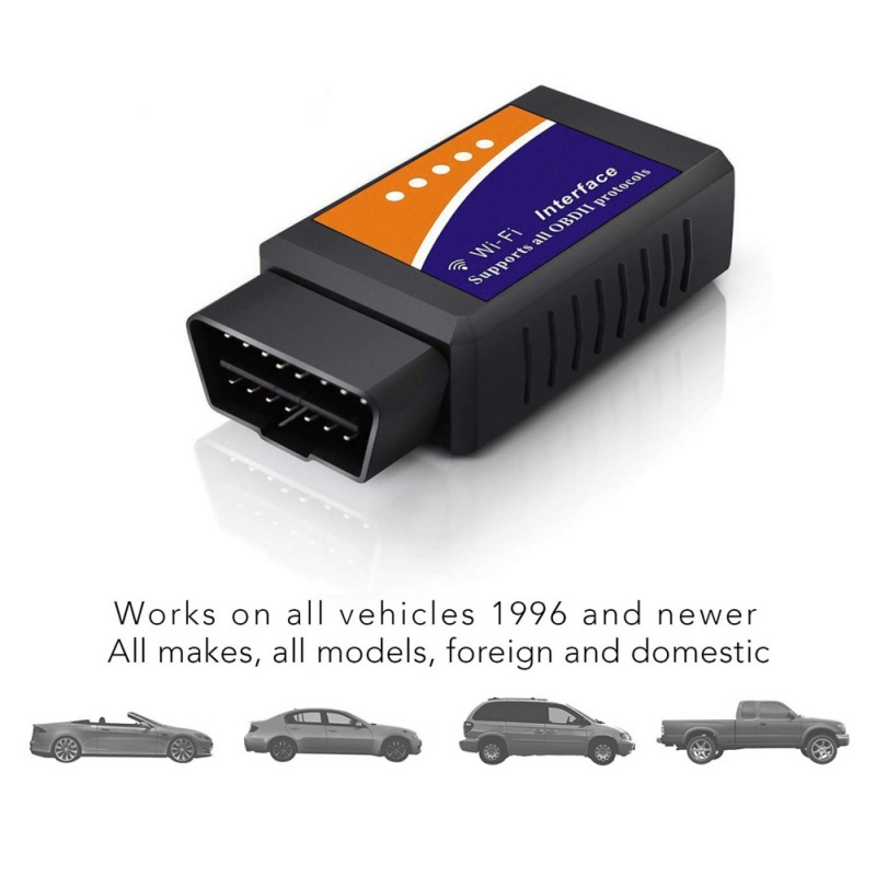 2018 Elm327 Wi-fi OBD2 V1.5 Diagnose Auto Scanner Mit Beste Chip Ulme 327 Wifi OBD Geeignet Für IOS Android /iPhone Windows