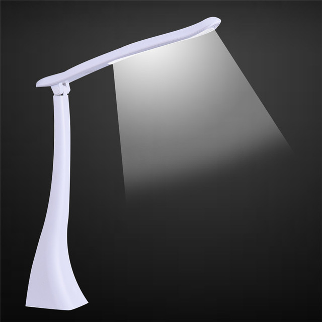 Foldable charging LED Desk table Lamp lamparas de mesa Adjustable 4.5W 18LED Day light Night Reading Outdoor light camping 600LM
