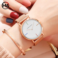 Wrist Watch for women Quartz Movement Women Stainless Steel Mesh Waterproof Ladies Watch zegarek damski moda mujer Dropshipping