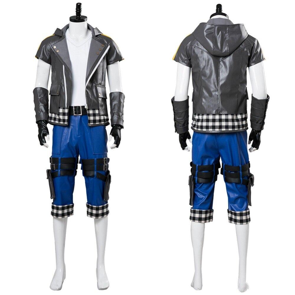 Kingdom Hearts III Riku Cosplay Costume Adult Men Women Outfit Halloween Cosplay Costume Custom Made