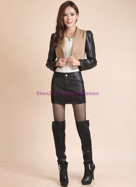 0729bff94dc Hot Sexy Women Girl Mini Faux PU Leather Skirt Style Shorts Pants Punk Rock Pole  Dance Mid Waist