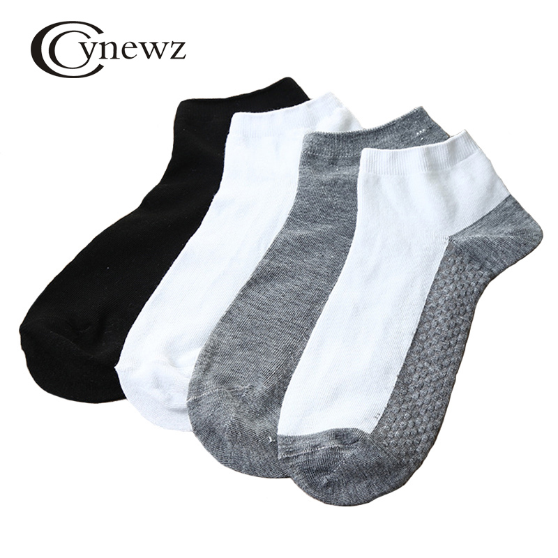1Pc Spring Men Socks Solid Cotton Breathable Antibacterial Deodorant 2017 Brand New High Quality Male Cool Summer Socks Thin