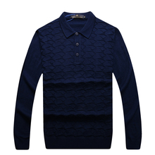 Angelo galasso sweater men's 2016 New comfortable embroidery fashion Business Casual S-5XL turn-down collar Free Shipping