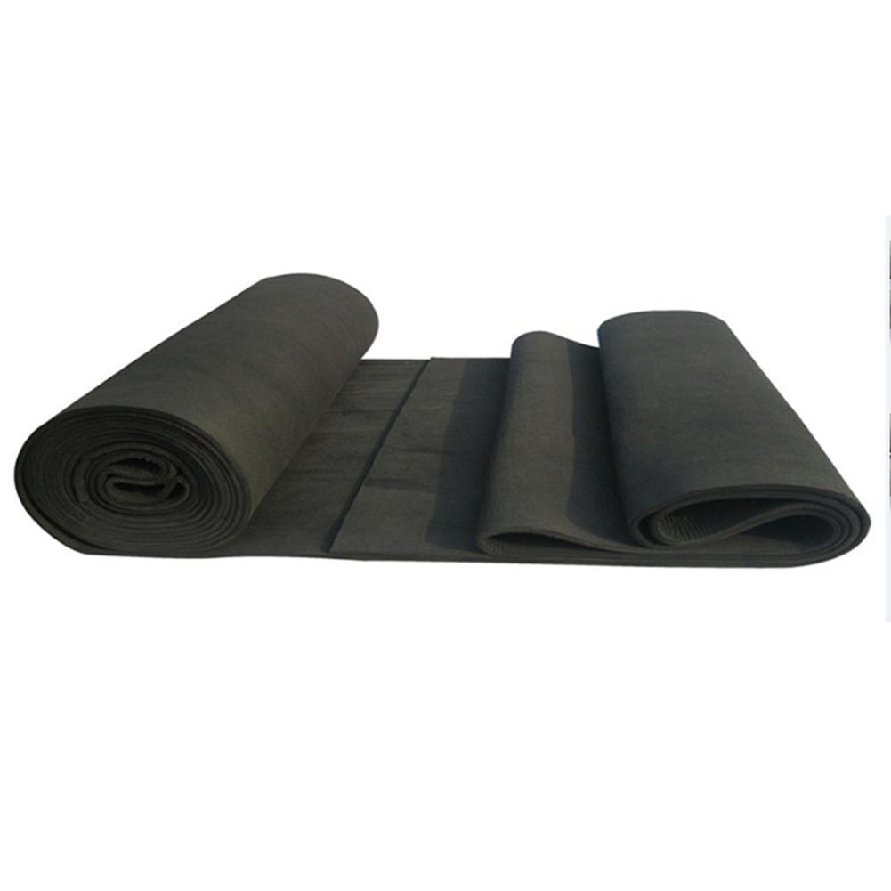 2 Sheets 20x30cm Soft Graphite Carbon Felt 3mm/5mm/8mm High Temperature Carbon Fiber Felt For Contamination Adsorption Cleaning