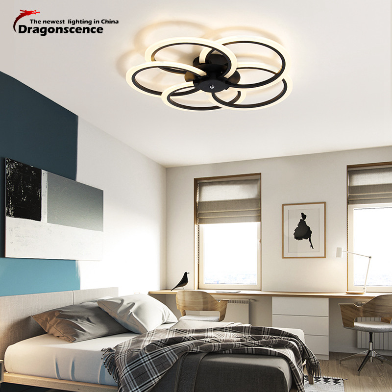 Dragonscence Modern LED chandelier Luxury Living Room led lamp high quality ceiling chandelier Lighting Fixtures lustre
