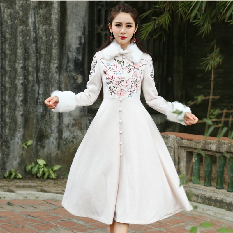 White Wool Coat Promotion-Shop for Promotional White Wool Coat on