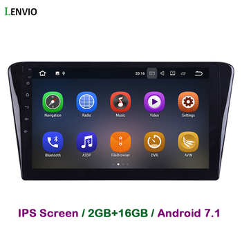 Lenvio 2G RAM Android 7.1 CAR DVD Player For Peugeot 408 2014 2015 2016 2017 Audio Radio GPS Navigation multimedia Quad Core IPS