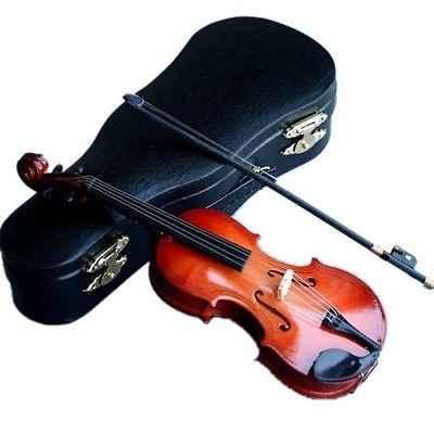 [Wamami] Мини деревянная скрипка 1/4 MSD 1/6 1/3 SD DZ SD17 DZ70 аксессуары для кукол-не для взрослых