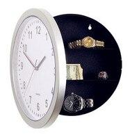 Hidden Secret Wall Clock Safe Money Stash Jewellery Stuff Storage Container Box Creative Storage Clock Birthday