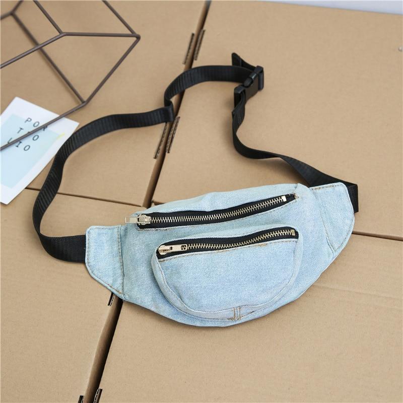 CCRXRQ Cowboy Waist Bags Casual Travel Lady Belt Bag Convenient High Capacity Women's Chest Bag Hot Selling Fanny Pack Female