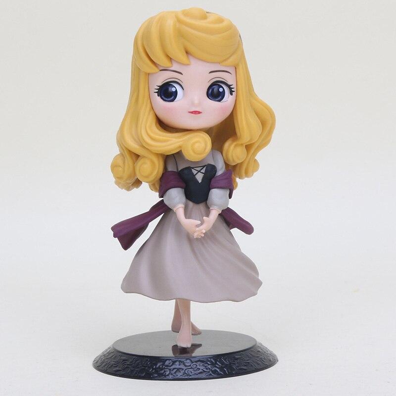 Toy-Model Rose-Figure Briar Beauty Q-Posket Princess Pvc Collection 14cm