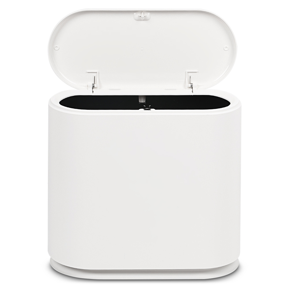 Pressing Type Plastic Trash Can Garbage <font><b>Bin</b></font> Waste Rubbish Dustbin For Home Trash Can Waste <font><b>Bins</b></font> Household Cleaning