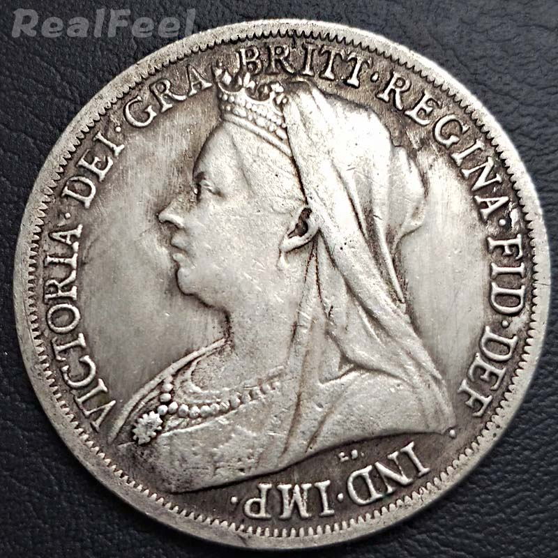 UK Victoria old coins copy 1951 Knight Ancient Commemorative Coin replica collectible coins art craft collection