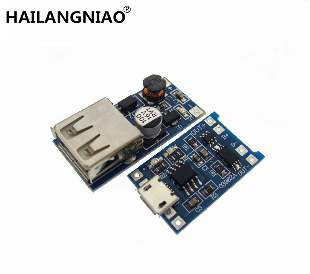 0.9V~5V 600MA USB Output charger Mini DC-DC Boost Converter +1a lithium battery charging TP4056 with protection one plate modul 30a 3s polymer lithium battery cell charger protection board pcb 18650 li ion lithium battery charging module 12 8 16v