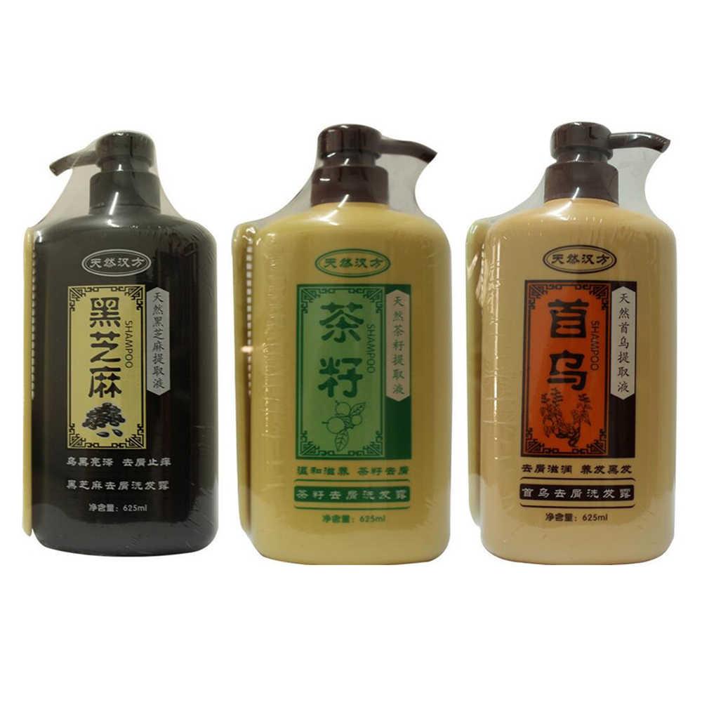 מקצועי טבעי תמצית רפואה הסינית שיער שמפו מזין אנטי נשירת שיער קשקשים שמפו שיער מוצרי טיפוח 625 ML