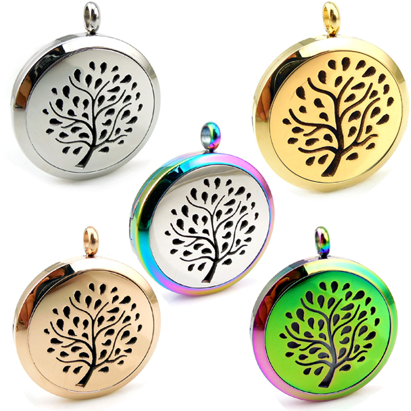 With Chain Gift Tree 20mm, 25mm, 30mm Stainless Steel