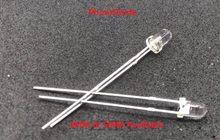 Fotosensores fotossensíveis de diodo 3mm, foto led 5mm f3 f5, 20 peças