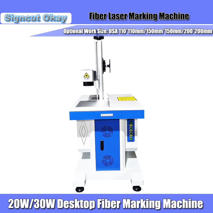 20W 30W Jewelry Laser Marking Machine Fiber Laser Marking Machine For Gold Ring Hot Selling