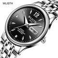 Мужские наручные часы WLISTH  люксовый бренд  деловые водонепроницаемые часы  часы для пар  модные спортивные часы  Relogio Masculino