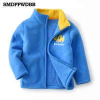 2-8Y chłopcy dziewczęta moda zimowa sportowe bluzy z kapturem cartoon ciepła bluza polarowa dzieci chłopcy ubrania dla dzieci dzieci płaszcz kurtka odzież