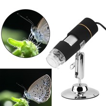 New Popular Portable Digital 50-1000X 2MP USB 8LED Microscope Endoscope Video Camera Magnifier