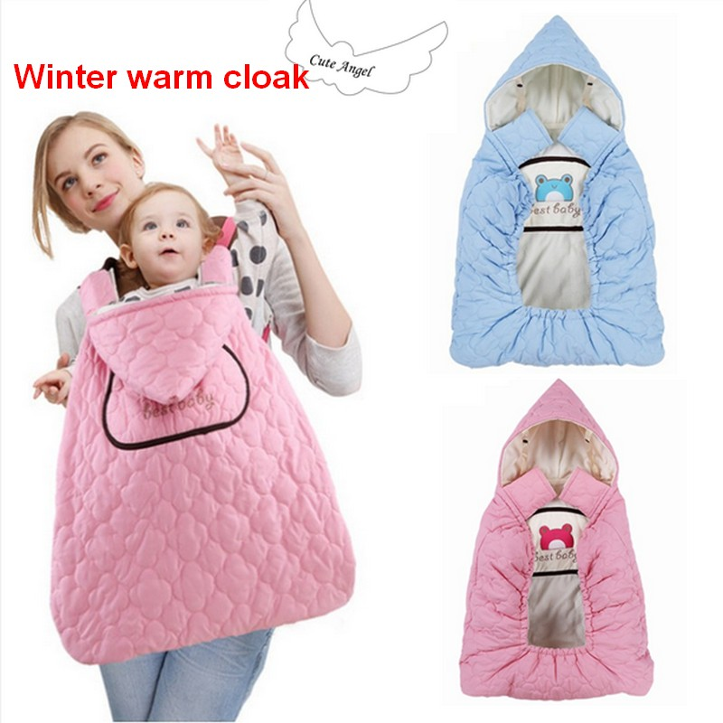 Reliable Best Baby Winter Baby Carrier Cloak Warm Cape Cover Wind Rain Snow Proof With Velvet Lining Blanket Cover You Baby Mother & Kids
