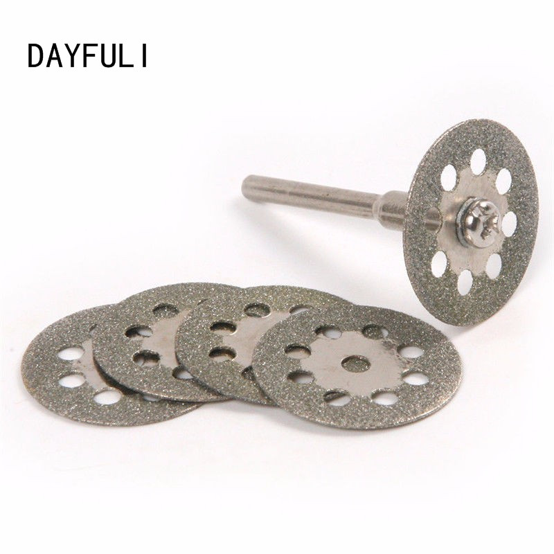 36pcs//set Universal 36X 24mm Mini Diamond Cutting Discs for Dremel Minicraft