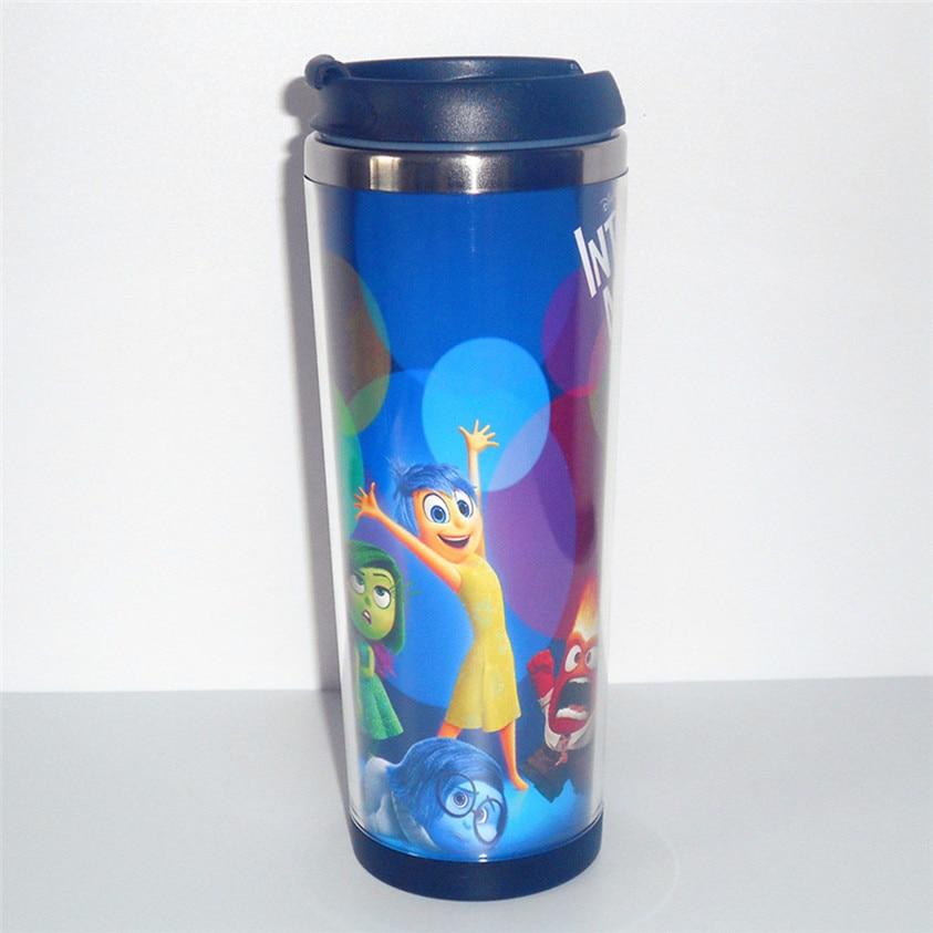 New Mug <font><b>Inside</b></font> Out Creative Coffee Mug Tea Milk Water <font><b>Cup</b></font> Stainless Steel Leakproof Travel Mug for Adults Gift