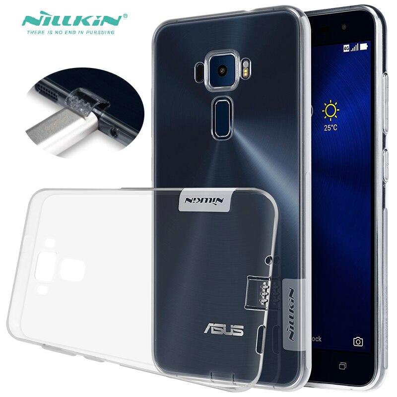 Zenfone 3 Transparent Cover Ultra Thin Gel Case For ASUS ZENFONE 3 ZE520KL ZE552KL Flexible Antiskid Phone Back Cover Zenfone3
