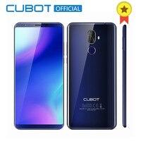 Cubot X18 Plus 18 9 5 99 4GB 64GB 2160 1080 Android 8 0 MT6750T Octa