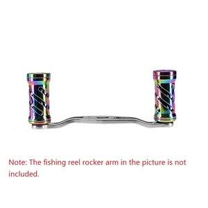 Image 5 - Deshion 1PC Bunte Aluminium Legierung Angeln Reel Griff Knob für Spinning Reel Griff Knob