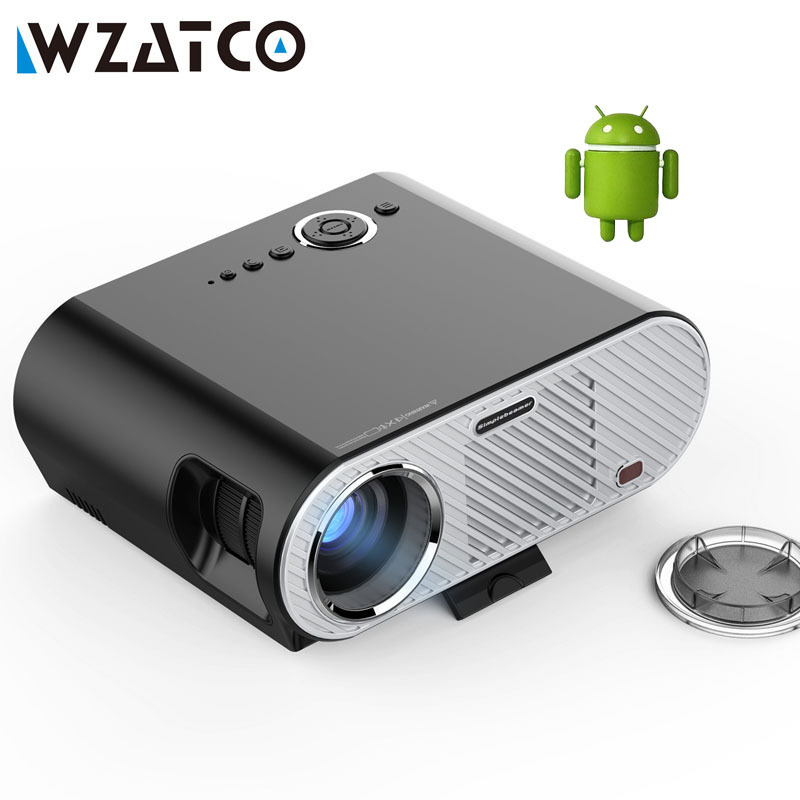 Gp90up android 4 4 wifi bluetooth portable led 3d for Best portable bluetooth projector