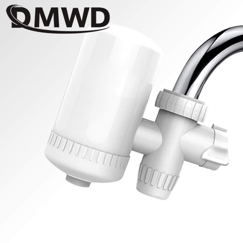 DMWD Tap Faucet Water Purifier Washable Ceramic Percolator Mini Purification Rust Bacteria Removal Replacement Filter tap water purifier kitchen faucet washable ceramic percolator mini water purification activated carbon faucet water purifier