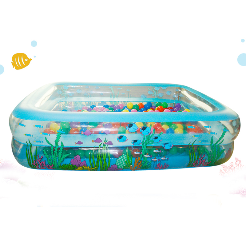 high quality inflatable pvc family large piscinas rectangular zwembad swimming pool for adults and children size