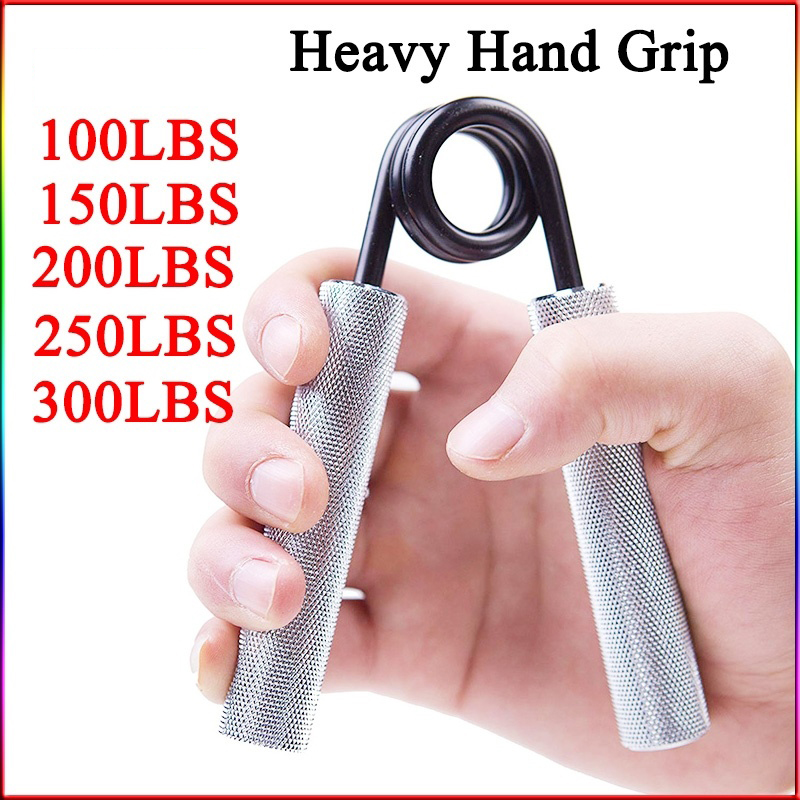 75-300lb Heavy Hand Grip Sponge Hand Expander Professional Fitness Muscle Trainer Finger Gripper Strength Heavy Grip Equipment