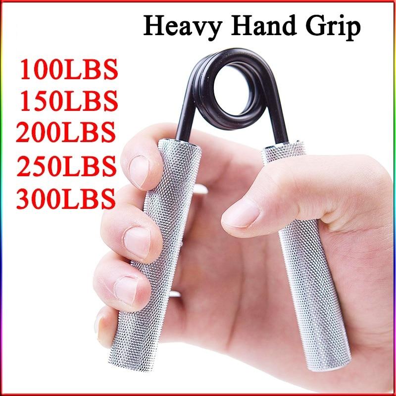 75-300lb Heavy Hand Grip Sponge Hand Expander Professional Fitness Muscle Trainer Finger Gripper Strength Heavy Grip Equipment