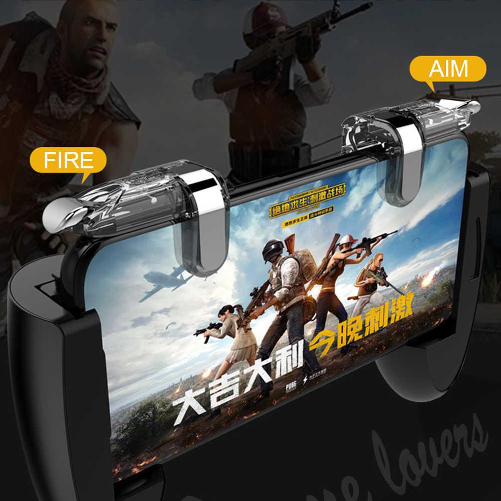 Для PUBG игровой контроллер Pad геймпад игры триггер сотовый телефон мобильный контроллер L1R1 Aim джойстик для iphone Xiaomi fortnit