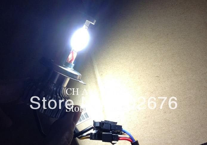 Бесплатная доставка, горячая чем Dland 35 Вт (70 Вт) <font><b>h4</b></font> Hi/lo авто светодиодные лампы фары, DC 12 В 24 В, высокое качество с низкой луч дальнего света