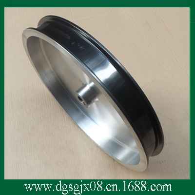 Coating ceramic pulley  leading pulley   wire guide capstan  with long working life the combined guide pulley with coating ceramic for wire machine