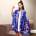 Wholesale High quality fashion sexy printing floral pashmina spring autumn style romance mitated silk fabric towel scarves wj50
