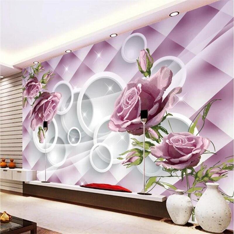 Beibehang Custom Wallpaper Home Decor Living Room Bedroom: Beibehang 3d Wallpaper Murals Custom Living Room Bedroom