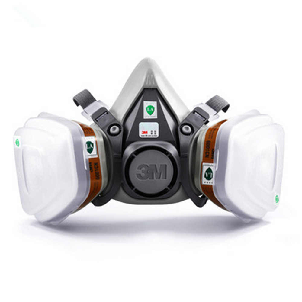maschera anti gas 3m
