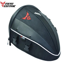 MOTOCENTRIC Motorcycle Bag Motorbike Saddle Bags Luggage Case Tail Suitcase Travel Oil