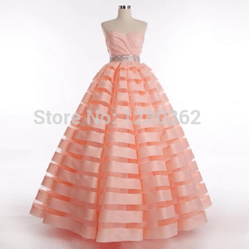 fashion 2017 sequined real photo summer wedding dresses british style bridal wedding dress big striped tutu