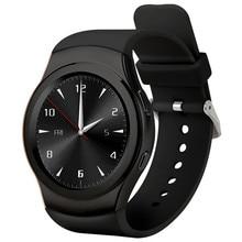 Heißer verkauf! runde Bluetooth Smart Uhr Sport Smartwatch-sim-karte Pulsmesser für 4 S/5/6 S S4/hinweis/S7 Telefon PK LEM3 AN1